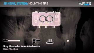 Download GoPro 3D HERO System: Mounting Tips Video