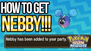 Download How to Get NEBBY in Pokemon Sun and Moon   Austin John Plays Video