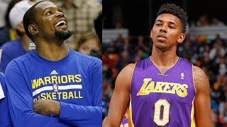 Download Kevin Durant ROASTS Nick Young After Warriors Sign Him Video