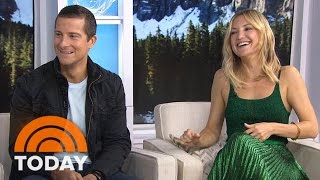 Download Kate Hudson Gets Primal With Bear Grylls On 'Running Wild' | TODAY Video