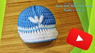 Download Tutorial: Gorra para bebe tipo adidas de crochet Video