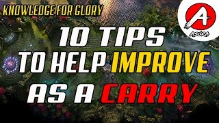 Download 10 Tips to Improve as a Carry - How to carry in Vainglory Video