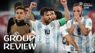 Download Croatia and Argentina progress - Group D Review! Video