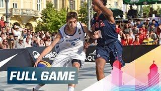 Download France v USA - Men's Quarter-Final Full Game - 2015 FIBA 3x3 U18 World Championships Video