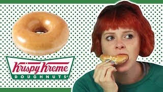 Download Irish People Try Krispy Kreme Donuts For The First Time Video