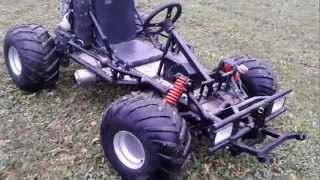 Download Motor Go kart mit Honda CBR 600F Motor Video