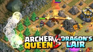 Download DRAGON'S LAIR vs ARCHER QUEEN ″Clash of Clans″ - Can We 3 Star Dragons Lair with the Archer Queen! Video