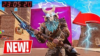 Download Fortnite CUBE is in TITLED TOWERS!! Fortnite *NEW* Port a Fortress & Spiky Stadium! Video