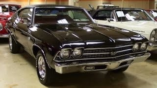 Download 1969 Chevrolet Chevelle SS 427 Big-block V8 Muscle Car Video