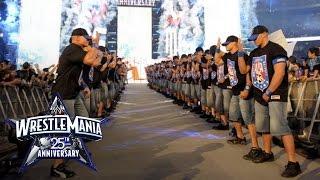 Download An army of John Cenas make their WrestleMania entrance: WrestleMania 25 Video
