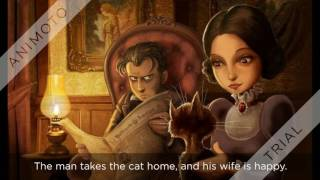 Download Movie of THE BLACK CAT by Edgar Allan Poe Video