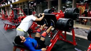 Download 520 kg leg press 16 years old teenager Video