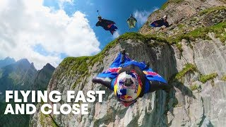 Download Wingsuit Flying Formation in ″The Crack″ | Miles Above 3.0 Video