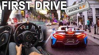 Download DRIVING The FIRST Delivered $320,000 McLaren 600LT In California! - INSANITY! Video