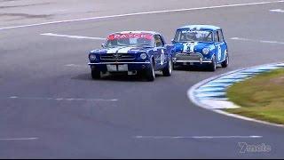 Download 2014 Australian Muscle Car Masters - Mini vs Mustang Video