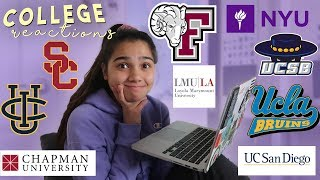 Download COLLEGE DECISION REACTIONS 2019 (UCLA, NYU, USC, UCSB, FORDHAM, UCI + MORE) Video