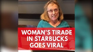 Download 'Use English only': Woman launches Starbucks tirade against customers speaking Korean Video