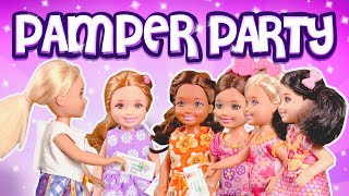 Download Barbie - Chelsea's Birthday Pamper Party | Ep.67 Video