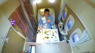 Download EMIRATES NEW 2018 FIRST CLASS - IT'S A 5* HOTEL!!! Video