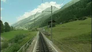 Download World railways. Switzerland. Glacier Express 1. Zermatt - Brig Video