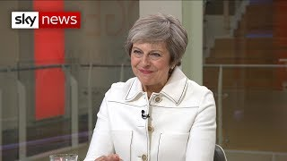 Download PM tells Sky News: 'I've never thought of giving up' Video