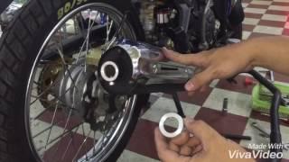 Download Pô tăng giả zin Kozi cho Ex 135 và Ex 150, sử dụng ống tiêu nhôm 23mm. Facebook: Lý Chí Vỹ Video