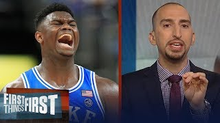 Download Nick Wright on Steve Kerr comparing Duke's Zion Williamson to LeBron | NBA | FIRST THINGS FIRST Video
