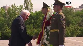 Download Steinmeier visits Armenia's genocide memorial Video