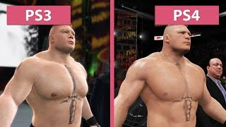 Download WWE 2K17 – PS3 vs. PS4 Graphics Comparison Video