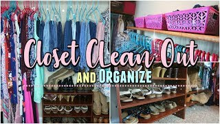 Download Clean Out and ORGANIZING MY CLOSET/Closet Organization Ideas 2018 Video