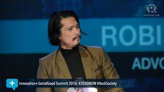 Download Social Good Summit 2016: Robin Padilla tells millennials to 'fight the good cause' Video