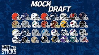 Download FULL 1st Round 2018 NFL Mock Draft & Analysis | Move the Sticks | NFL Video