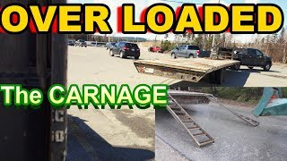 Download OVER LOADED Trailer-The Damage That FORCED me to SHUT DOWN my company!! 34,000 IBS On F350 Video