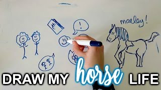 Download TAG: Draw My Horse Life | felinehoi Video