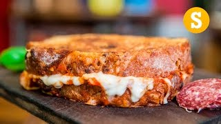 Download Epic Pizza Grilled Cheese Recipe Video