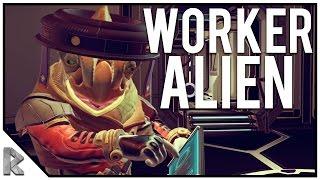 Download Hiring an Alien for Construction! - No Man's Sky 1.1 Update #3 (PC) Video