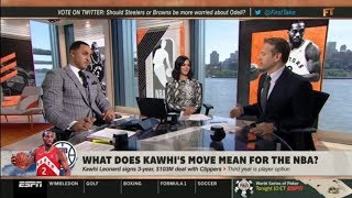Download The Lakers & LeBron will go farther than the Clippers, Kawhi in 2020 - Max Kellerman   First Take Video