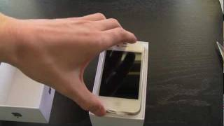Download iPhone 4S Unboxing (White 64GB) Video