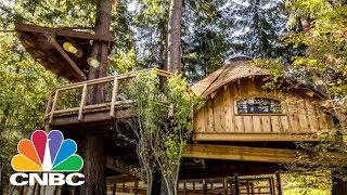 Download Microsoft Built Treehouse Workspaces For Its Employees | CNBC Video