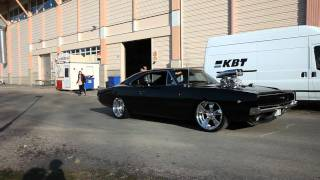Download Victory burnout Supercharged Dodge Charger 68 Video