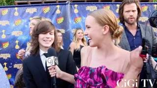 Download Chandler Riggs Talks Going to Public School While Starring in ″The Walking Dead″ Video
