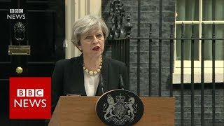 Download Theresa May on Manchester Arena explosion - BBC News Video