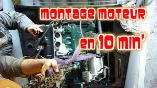 Download Montage du moteur dans la 404 en 10 minutes! Video