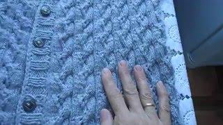Download Женский жилет из кавказской пряжи Video