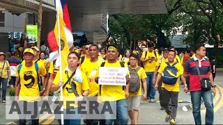Download Malaysia: Thousands protest against scandal-hit PM Razak Video