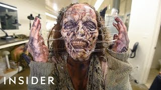 Download How A Hollywood Makeup Artist Turns Actors Into Zombies Video