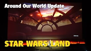 Download Star Wars Land Update | Around Our World 2016 Video