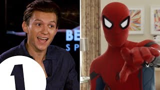 Download ″I'm a walking meme!″: Spider-Man's Tom Holland on the 'Quackson Klaxon'. Video