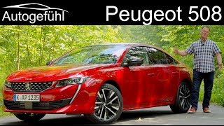 Download Peugeot 508 GT FULL REVIEW test all-new 2019 sedan Limousine - Autogefühl Video