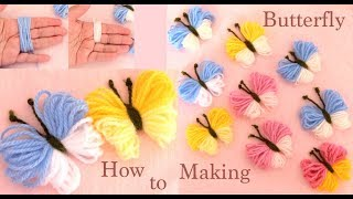 Download Mariposas 3D con truco simple Hand Embroidery Amazing trick Making easy Butterfly Video